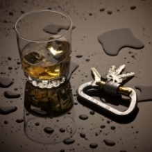 Alcohol and car keys - Franklin DUI Lawyer